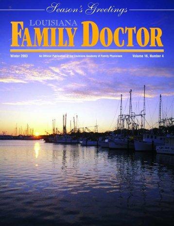 *LA Family Physician V16#2 03 - LAFP