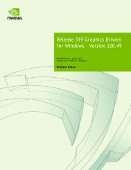Release 319 Graphics Drivers for Windows - Version 320.49