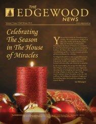 Saturday, December 1, 2012 - EDGEWOOD Addiction Treatment