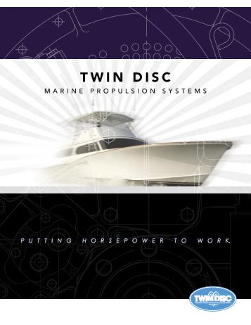 Brochure Twin Disc