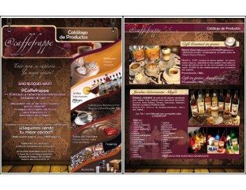 Catálogo caffe frappe - QuimiNet.com