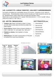 Led Outdoor Series - NEMODOS
