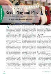 Rede Plug and Play - Lnm.com.br