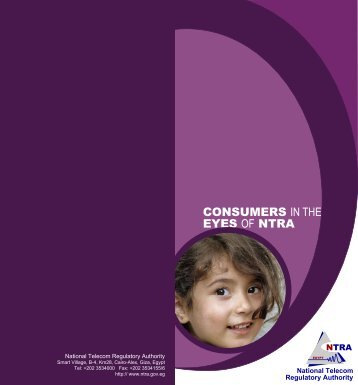 CONSUMERS IN THE EYES OF NTRA