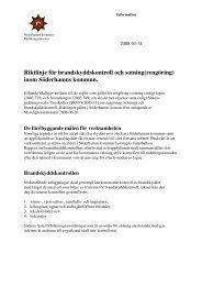 Riktlinjer för sotning - Söderhamns kommun