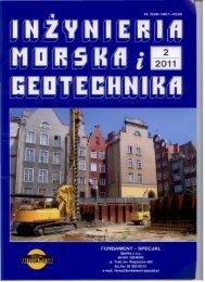 plik pdf - Wydział Inżynierii Lądowej - Politechnika Warszawska