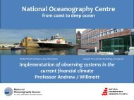 Implementation of Observing Systems in the Current ... - POGO