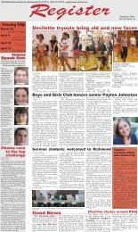Thursday, March 25, 2010 - Richmond Community Schools