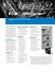 FlashGard Motor Control Center (MCC) - of downloads