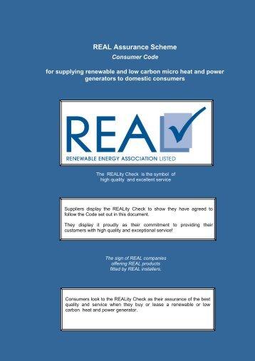 REAL Assurance Scheme - BritishEco