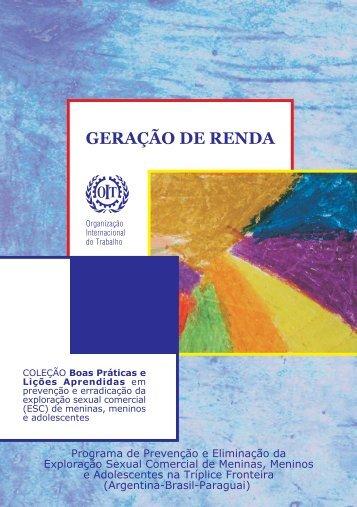 geração de renda - OIT en América Latina y el Caribe