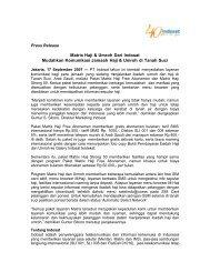 Indosat Luncurkan Matrix haji dan Umroh