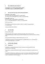 1 1. RAVIMPREPARAADI NIMETUS Gemcitabine Actavis ... - Arst.ee