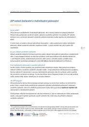 ZIP neboli Začlenění a individuální plánování - Quip