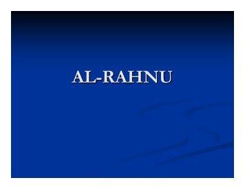 AL-RAHNU