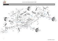 Accessoires Voiture Radiocommandée AVT-20501 VUE ÉCLATÉE