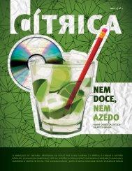 NEM DOCE, NEM AZEDO - Fundação Cultural do Estado da Bahia
