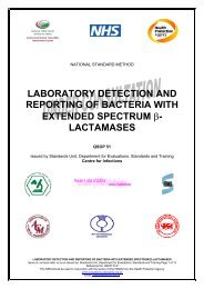 laboratory detection and reporting of bacteria with extended spectrum