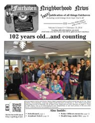 to download a copy of this week's issue. - Fairhaven Neighborhood ...