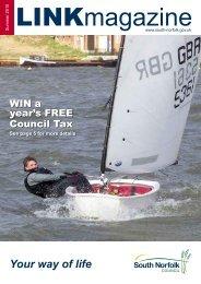 Link Magazine, Summer 2010 [PDF] - South Norfolk Council