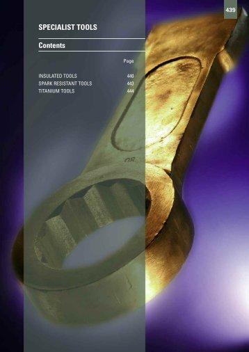 SPECIALIST TOOLS Contents - Gibb Tools