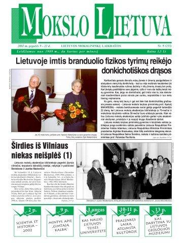 mokslo l ietuva - MOKSLAS plius