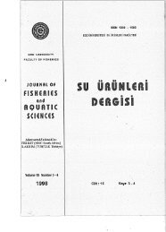 Volume 15, Issue 3-4 - Journal of Fisheries and Aquatic Sciences