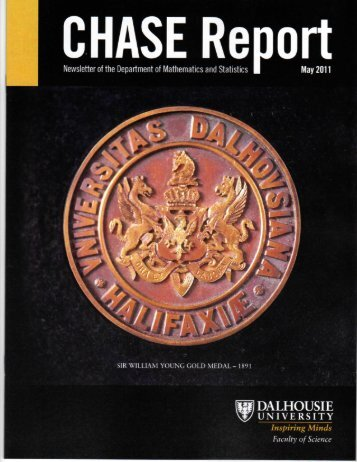 Chase Report - Department of Mathematics and Statistics
