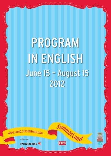 June 15 – August 15 2012