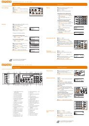quickguide cd 1218/1222 quickguide cd 1218/1222 - Utax