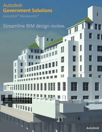 Navisworks for Government brochure - Ideate