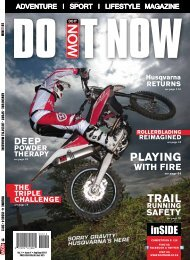 KTM rACeWorK NoW oPeN IN CLeArWATer www.raceworxktm.co.za