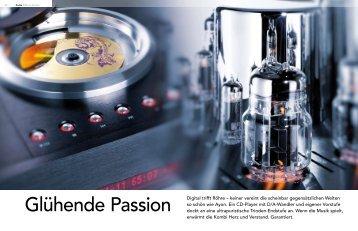 Glühende Passion Digital trifft Röhre – keiner vereint ... - Ayon Audio
