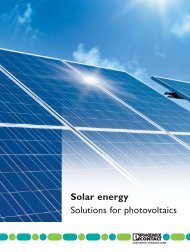 Solar energy Solutions for photovoltaics