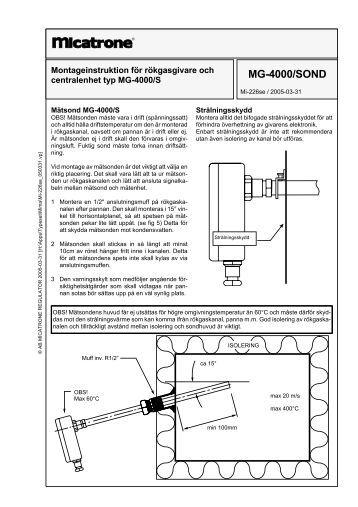 MG-4000/SOND - Micatrone.com