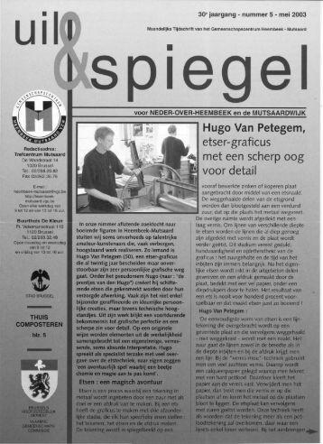 Hugo Van Petegem, etser-graficus met een scherp oog voor detail