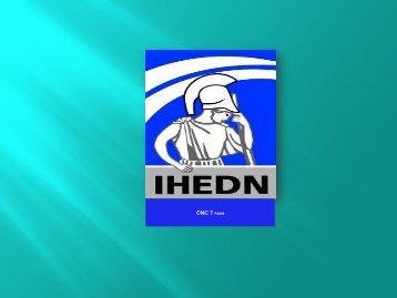 CITOYENNETE et ESPRIT DE DEFENSE - IHEDN