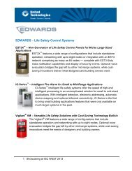EDWARDS – Life Safety Control Systems - UTC Climate, Controls ...