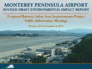 Relocated East Vehicle Service Road - montereyairportenvironmental