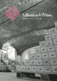 Newsletter numero 1 - luglio 2004 - La Banca del Vino