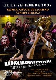 Radioliberafestival 2009 - Terzostudio