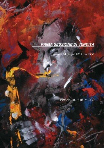 PRIMA SESSIONE DI VENDITA - Eurantico