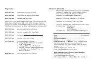 Programma Praktische informatie - Werkgroep Nabestaan Na ...