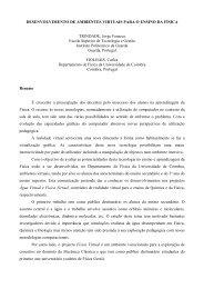 DESENVOLVIMENTO DE AMBIENTES VIRTUAIS PARA O ENSINO ...