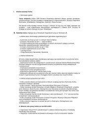plan pracy - Hufiec ZHP Strzelce Krajeńskie