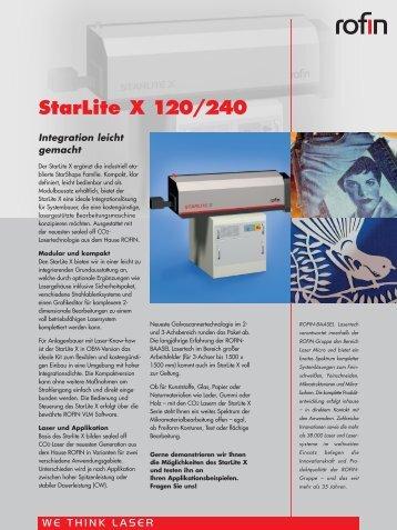 StarLite X 120/240 - Rofin