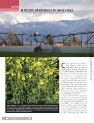 a decade of advances in cover crops - Conservation Technology ...