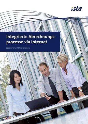 Integrierte Abrechnungs- prozesse via Internet