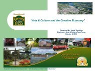 """Arts & Culture and the Creative Economy"" - Smiths Falls"