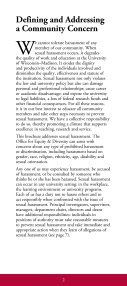 sexual harassment sexual harassment - Office for Equity and Diversity - Page 2